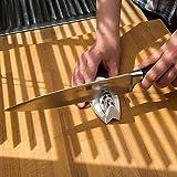 MOUSE Kompakter Messerschärfer von Uulki® - Passt in jede Schublade (Schwarz) -