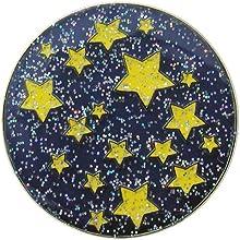 Navika Starry Night Glitzy Ball Marker with Hat Clip