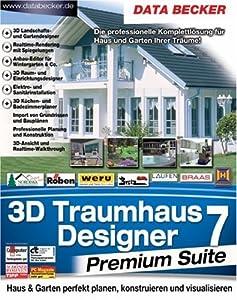3d traumhaus designer 7 premium suite software. Black Bedroom Furniture Sets. Home Design Ideas