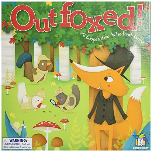 Outfoxed! Game Board Game (Clue Board Game Spanish compare prices)