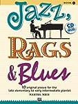 Jazz, Rags and Blues, Bk 1: 10 Origin...