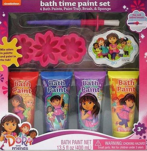 Dora and Friends Bath Time Paint Set by Nickelodeon - 1
