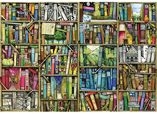 Wentworth Bookshelf 250 Piece Wooden Jigsaw Puzzle