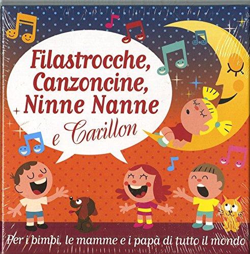 Filastrocche,Canzoncine, Ninne Nanne E Carillion [5 CD]