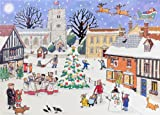 img - for Alison Gardiner Traditional Advent Calendar - Christmas in the Village book / textbook / text book