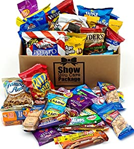 Show You Care Package (36 Count) With Snack Gifts Best Gift For College Student And Thank You Care Package