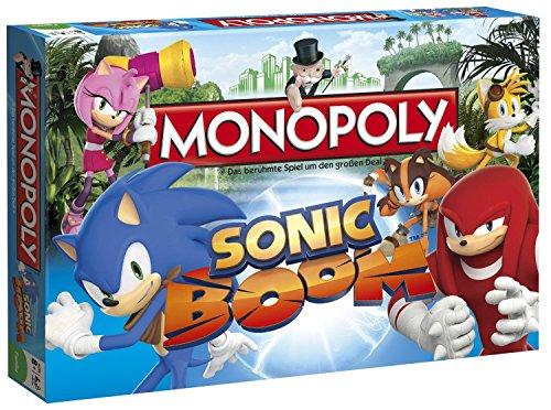 Sonic Boom Monopoly Brettspiel Standard