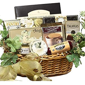 Grand Edition Gourmet Food Basket - MEDIUM