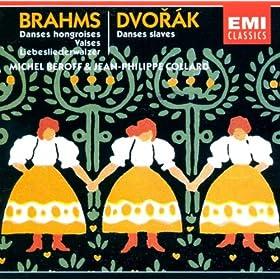 N7 En La Maj 21 Danses Hongroises Pn A 4 Mains