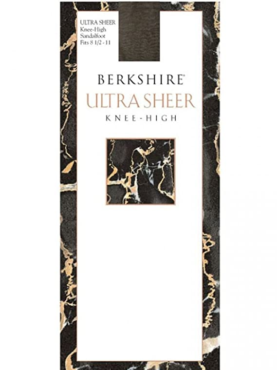 Berkshire Women's Ultra Sheer Knee High Sandalfoot Pack of 3