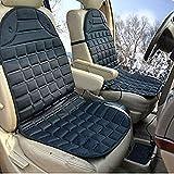 EFORCAR(R) 1PCS Black Hot Cover Auto 12V Heat Heating Warmer Pad-winter Car Heated Seat Cushion
