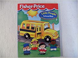 fisher price little people school bus coloring and. Black Bedroom Furniture Sets. Home Design Ideas