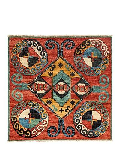 Darya Rugs Kaitag Oriental Rug, Red, 5' 10 x 6' 2
