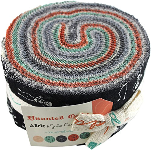 Haunted Gala Jelly Roll (37110JR) by Julie and Eric Comstock for Moda