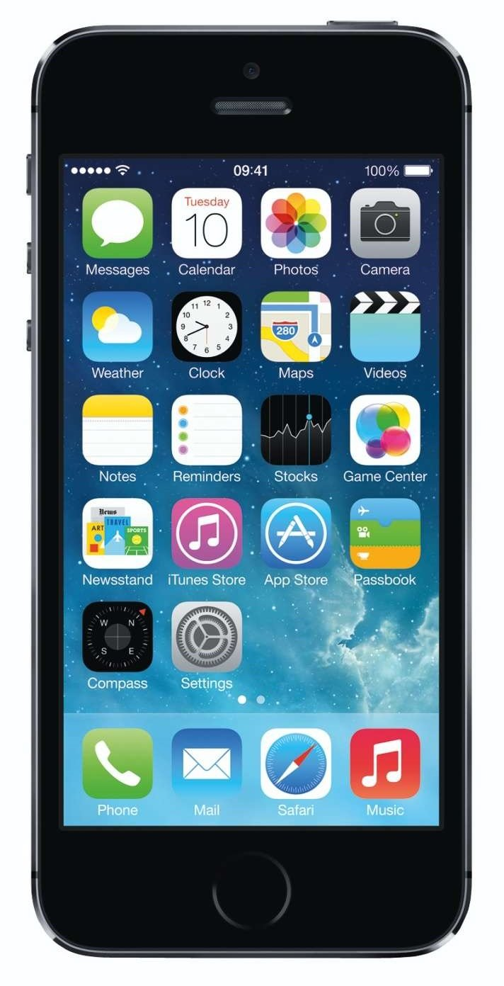 Apple iPhone 5S Space Gray 32GB Unlocked GSM Smartphone, Space Gray (Certified Refurbished)