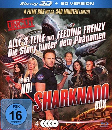 Sharknado 1-3 Box-Edition (3 Blu-rays 3D inkl. 2D Versionen plus Bonus DVD)
