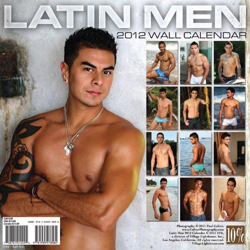Latin Men 2012 Calendar