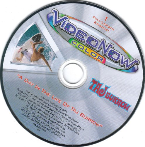 "Videonow Full-length Disc ""A Day in the Life of Taj Burrow"" - 1"
