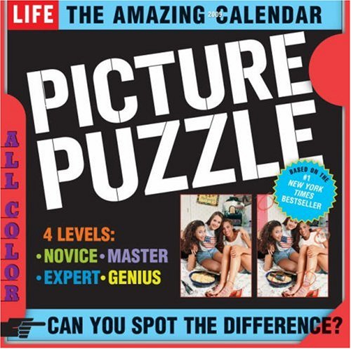 The Amazing Life Picture Puzzle Page-A-Day Calendar 2009