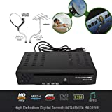 FidgetFidget Digital Terrestrial Satellite TV Receiver DVB T2 S2 HD 1080P Decoder H.264 MPEG4