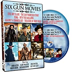 Six Gun Movies (6 films in one package!)
