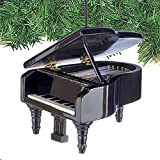 Musical Instrument Christmas Ornament 35 Black Grand Piano by Broadway Gifts