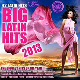 Big Latin Hits 2013 (Salsa, Bachata, Reggaeton, Latin House, Merengue, Kuduro, Cubaton, Mambo, Tropical)