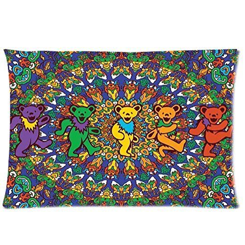 Sea Love 2015 Personalized Design! Music Band The Grateful Dead Fans Custom Throw Pillow Case Best New Year Gift 20X30 Inch 2 Sides for home