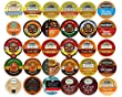 Holiday & Winter Coffee, Tea, Cider, Cappuccino & Chai Single serve cups For Keurig K Cups Brewers Variety Pack Sampler