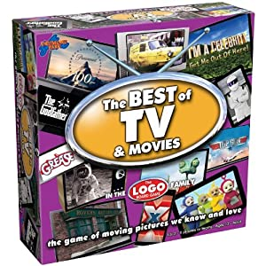 Best of TV and Movies Board Game from Drumond Park