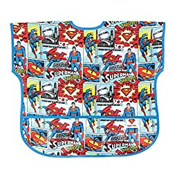 Bumkins DC Comics Junior Bib, Superman Comic, 1-3 Years