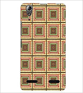 LENNOVO A6000 SQUARE PATTERN Designer Back Cover Case By PRINTSWAG