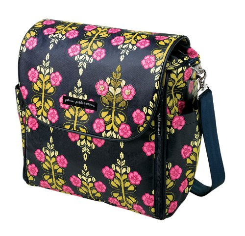 glazed diaper bags petunia pickle bottom boxy diaper bag siesta in sevilla. Black Bedroom Furniture Sets. Home Design Ideas