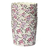 """""""50Pcs Greaseproof Muffin Cupcake Cups Paper Baking Liners (Rose)"""" shopping"""
