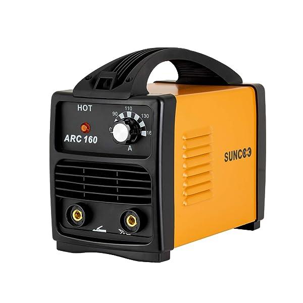 110V 160A ARC Welding Machine Mini Stick Welder w//Mask /& Brush Portable Yellow