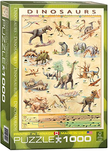 EuroGraphics Dinosaurs 1000 Piece Puzzle