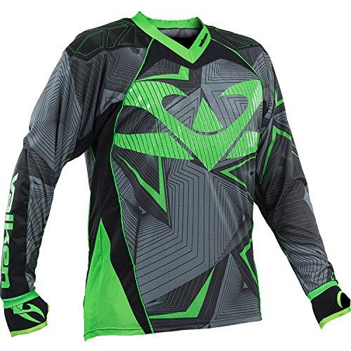 Valken Redemption Vexagon Jersey, Neon Green/Grey, 3X-Large
