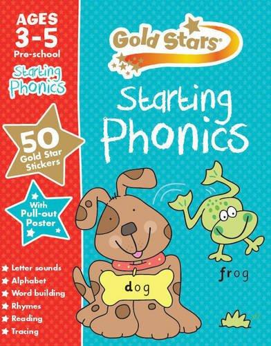 Starting Phonics (Gold Stars Preschool Workbooks)