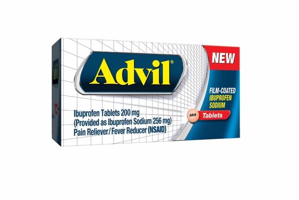 how many mg of ibuprofen is advil