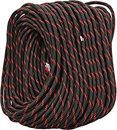 Fire Cord 550 Paracord, Thin Red Line, 100\'
