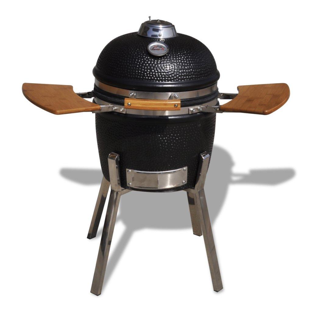 vidaXL Kamado Barbecue Grill Räucherofen Keramik 81 cm günstig kaufen