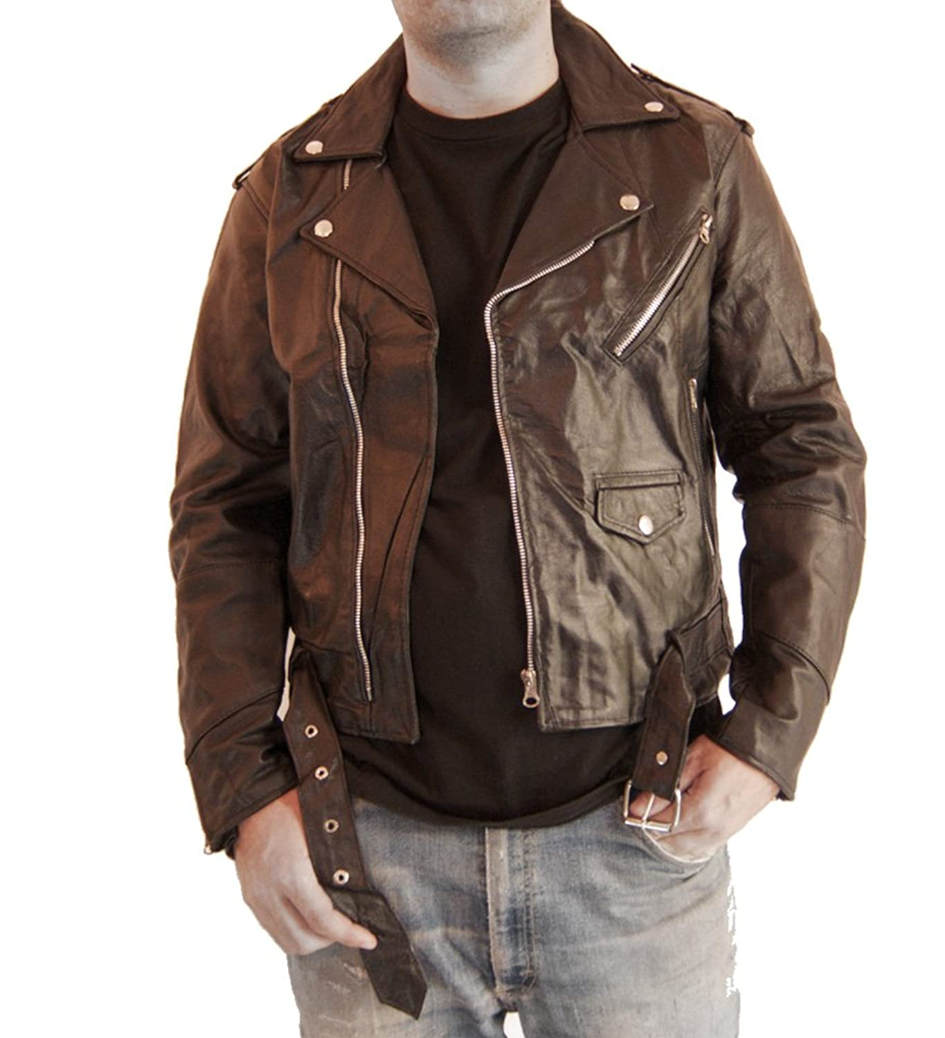 Bikers Zone Leather Jacket Review Retro Leather Biker Jacket