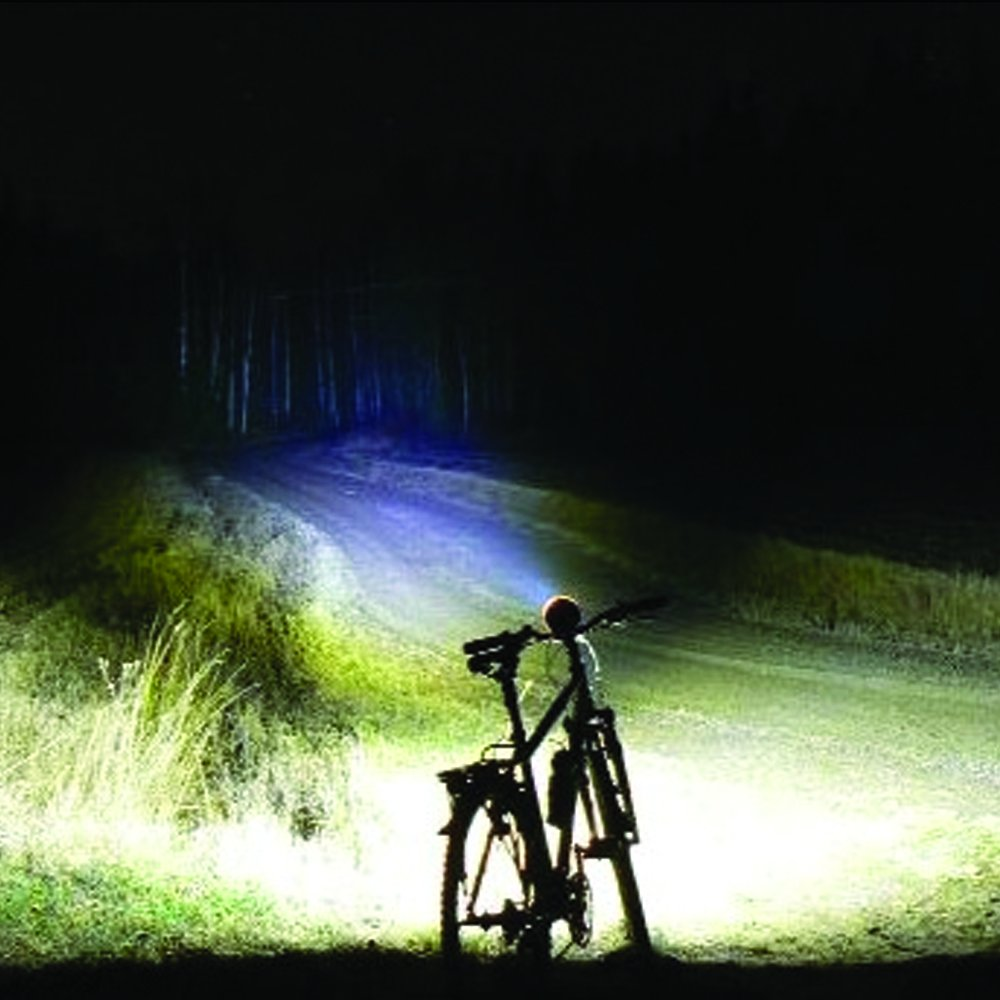 Amazon.com : Ultra Bright LED Bike Headlight/Flashlight Combo - Zoomable 1000x & Long Distance Range of 500 Feet - Perfect Safety Accessory for Children's or Sports Bikes & Scooters - Removable for use as a Tactical Flashlight - Taillight Included