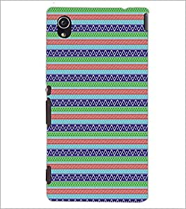 PrintDhaba Pattern D-5154 Back Case Cover for SONY XPERIA M4 AQUA (Multi-Coloured)