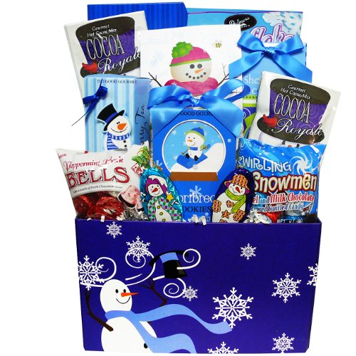 Our Sweetest Snowman Christmas Holiday Gourmet Food Gift Basket