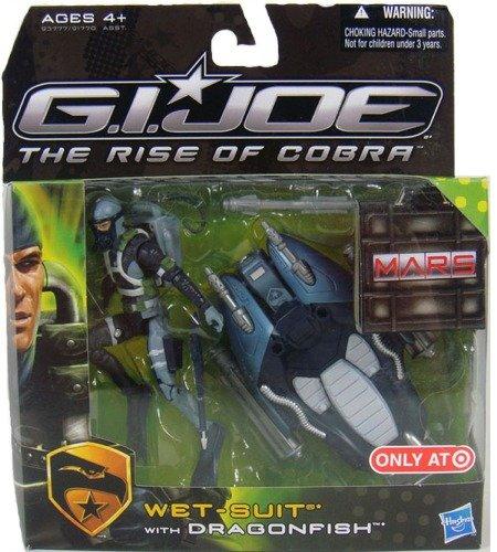 G.I. Joe Wet-Suit with Dragonfish Target Exclusive – The Rise of Cobra – Actionfigur von Hasbro als Weihnachtsgeschenk