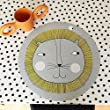 Environmentally Friendly Silicone Round Animal Placemat 15\