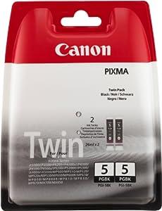 Canon PGI-5 BK Cartouche  d'origine- Twin pack Noir