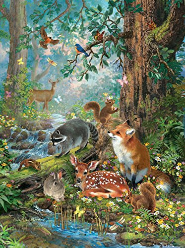 Out in the Forest 1000 Piece Jigsaw Puzzle by Sunsout Inc.