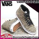 VANS(バンズ) スケートハイ スリム SK8-HI SLIM (Leopard) Herringbone/レディース(ladies') 靴 スニーカー(VN-0QG3B4Q)